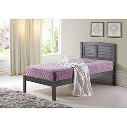 Donco Kids 212FAG Full Louver Bed Antique Grey NEW