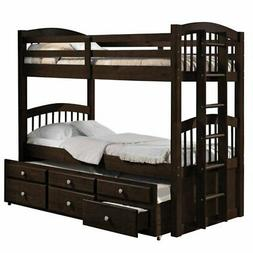 Acme Furniture 40000 Micah Bunk Bed with Trundle and 3 Drawe