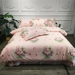 ALL-season 100%Cotton Very soft Bedding Sets Twin Queen size