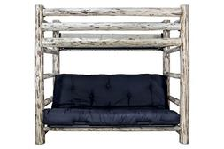Montana Woodworks Montana Collection Twin Bunk Bed over Full