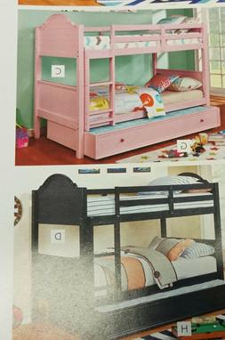 Furniture of America Denise Twin on Twin Bunk Bed