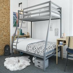 Kids Bunk Beds With Twin Over Full Bunk Bed Mattress Mainsta