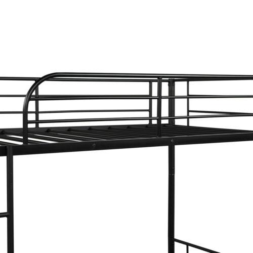 Black Bed Twin Twin Frame for Bedroom