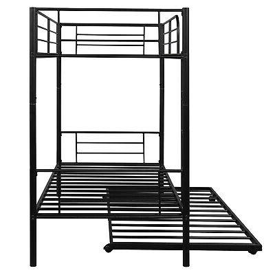 Bunk Twin With Trundle Kids Bedroom