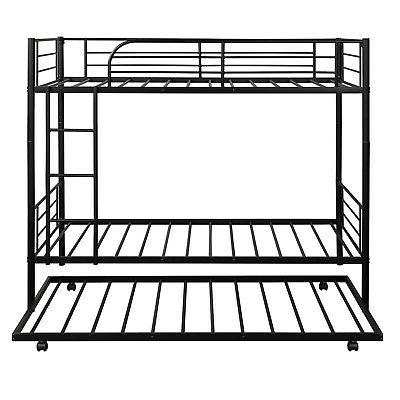 Bunk Bed Twin Twin Metal Loft With Kids