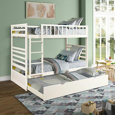 Bunk Twin Bed Storage Trundle