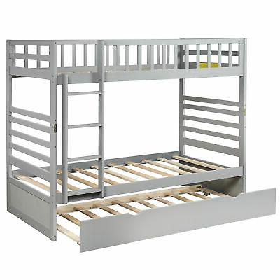Bunk Bed Over Twin Storage Beds For Kids