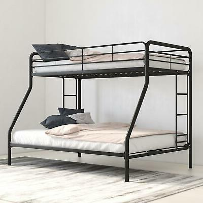 bunk beds twin over full kids girls