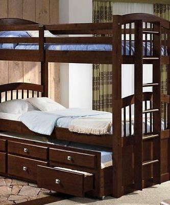 Carter Cappuccino Captains Bed with
