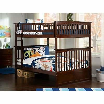 columbia bunk bed full over full in