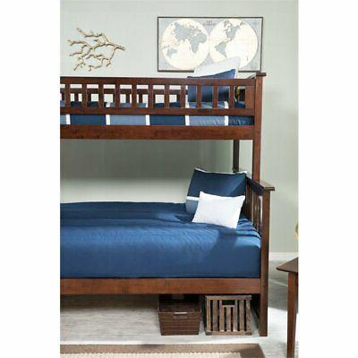 Atlantic Columbia Over Staircase Bunk Bed