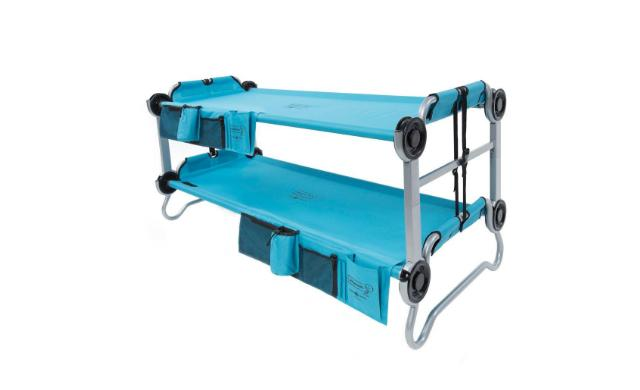 Kid O Bunk Teal Blue Bunk Beds Organizers Benchable Durable