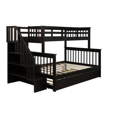 Bunk Trundle,Storage,Guard Rail