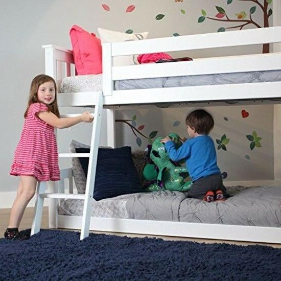 Low Kid Solid Twin Bunked Ladder Safe