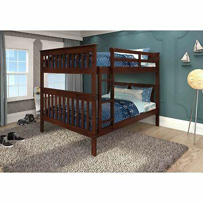 Donco Kids Mission Full-over-full Bunk Bed