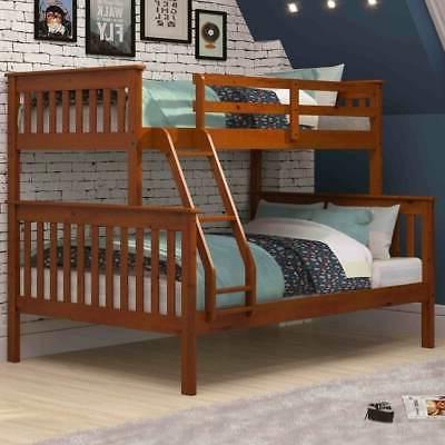 o mission twin over bunkbed