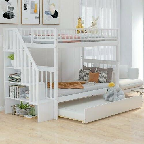 personality twin over twin bunk bed
