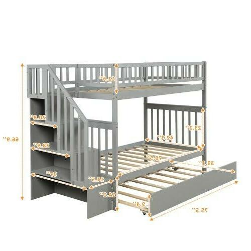 Bunk Bed and Storage