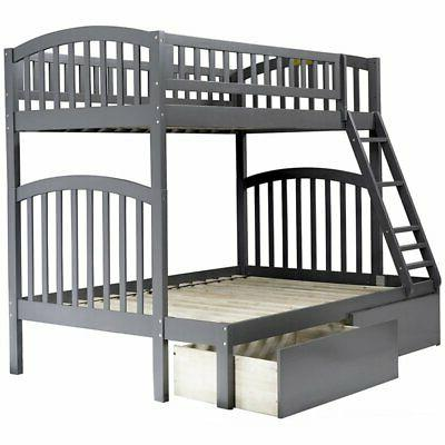 richland twin over full bunk bed in