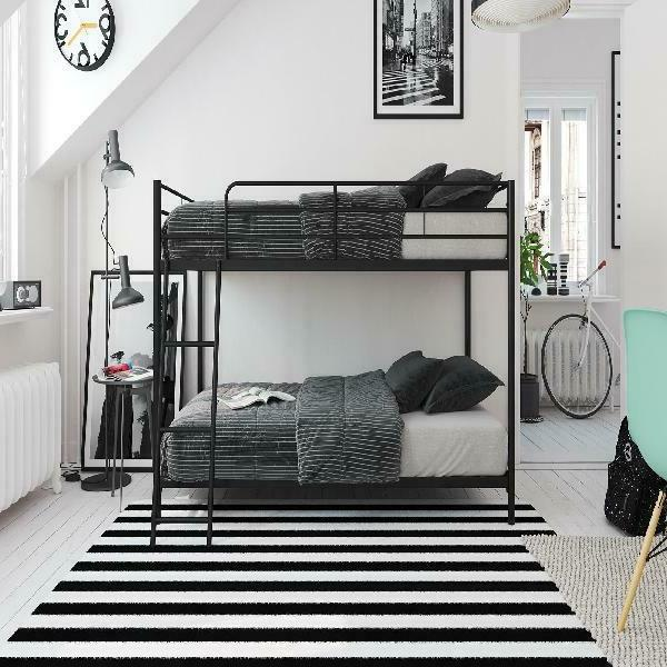 Mainstays Small Space Twin Over Twin Bunk Multiple Colors