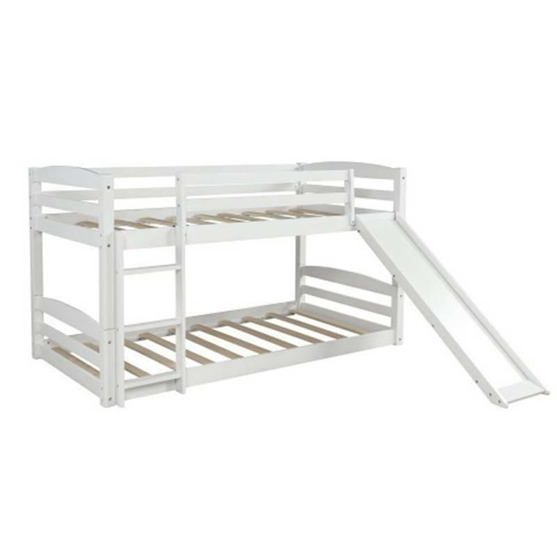 Wood Twin over Low Slide Ladder @cy