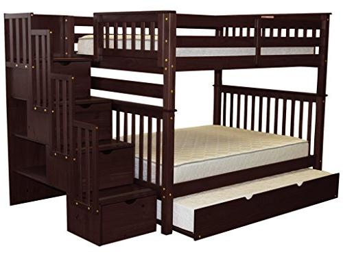 Bedz Beds Full Full with Drawers the Twin Trundle, Cappuccino