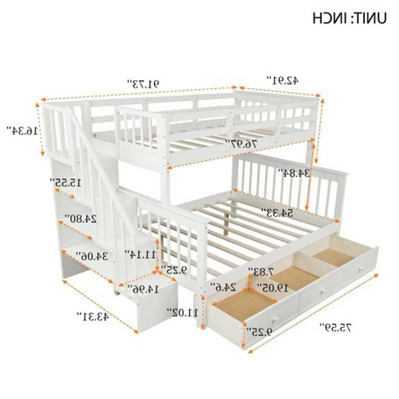 Stairway Bed with Guard Bedroom