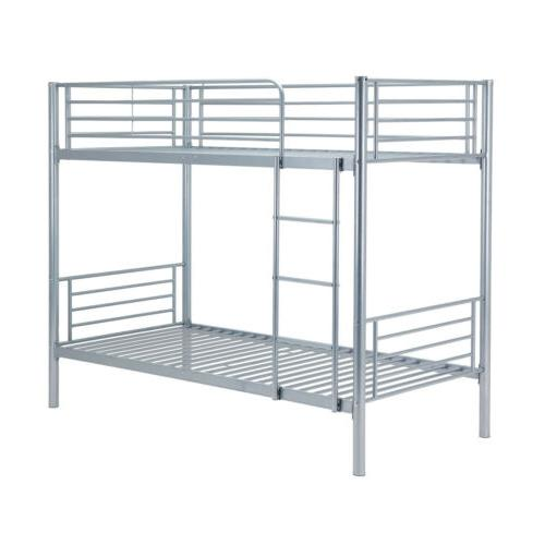 Steel Twin over Twin Bunk Frame Ladder for Dorm US