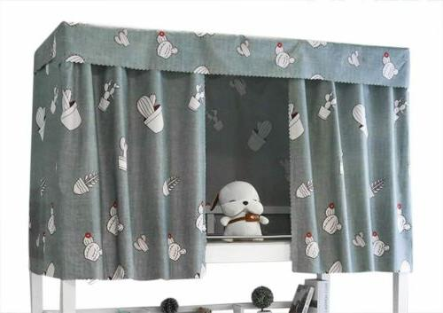 students dormitory bunk bed curtains single bed