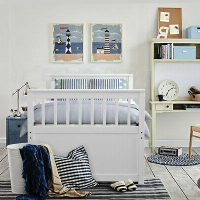 Twin Bed Bed & Kids White