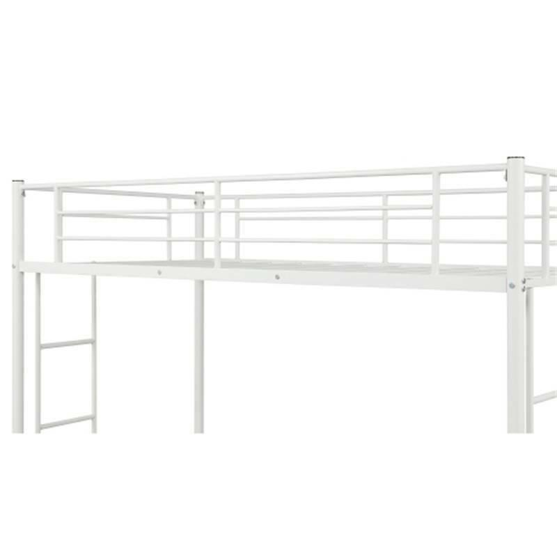 Twin Bed Metal Boys and Teens Bedroom
