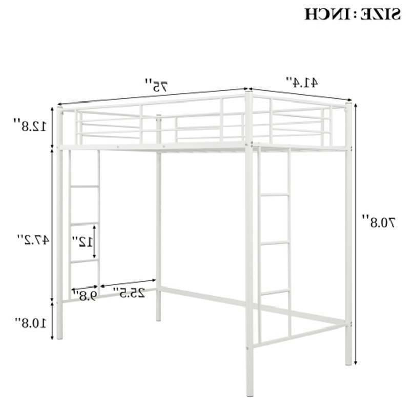 Twin Bunk Metal Bunk Beds Boys Bedroom