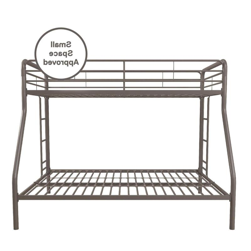 with Metal Frame and Ladder, Space-Saving Si