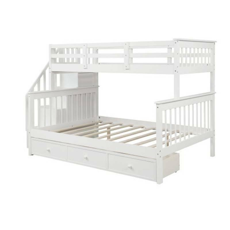 Stairway Bunk with & Guard Rail