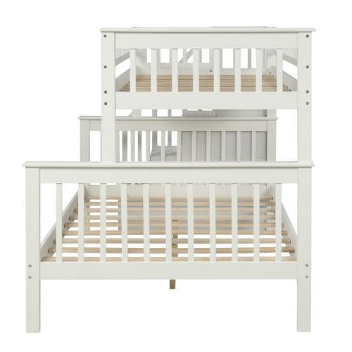Twin Beds Kids Adult Loft with Shelves for Bedroom