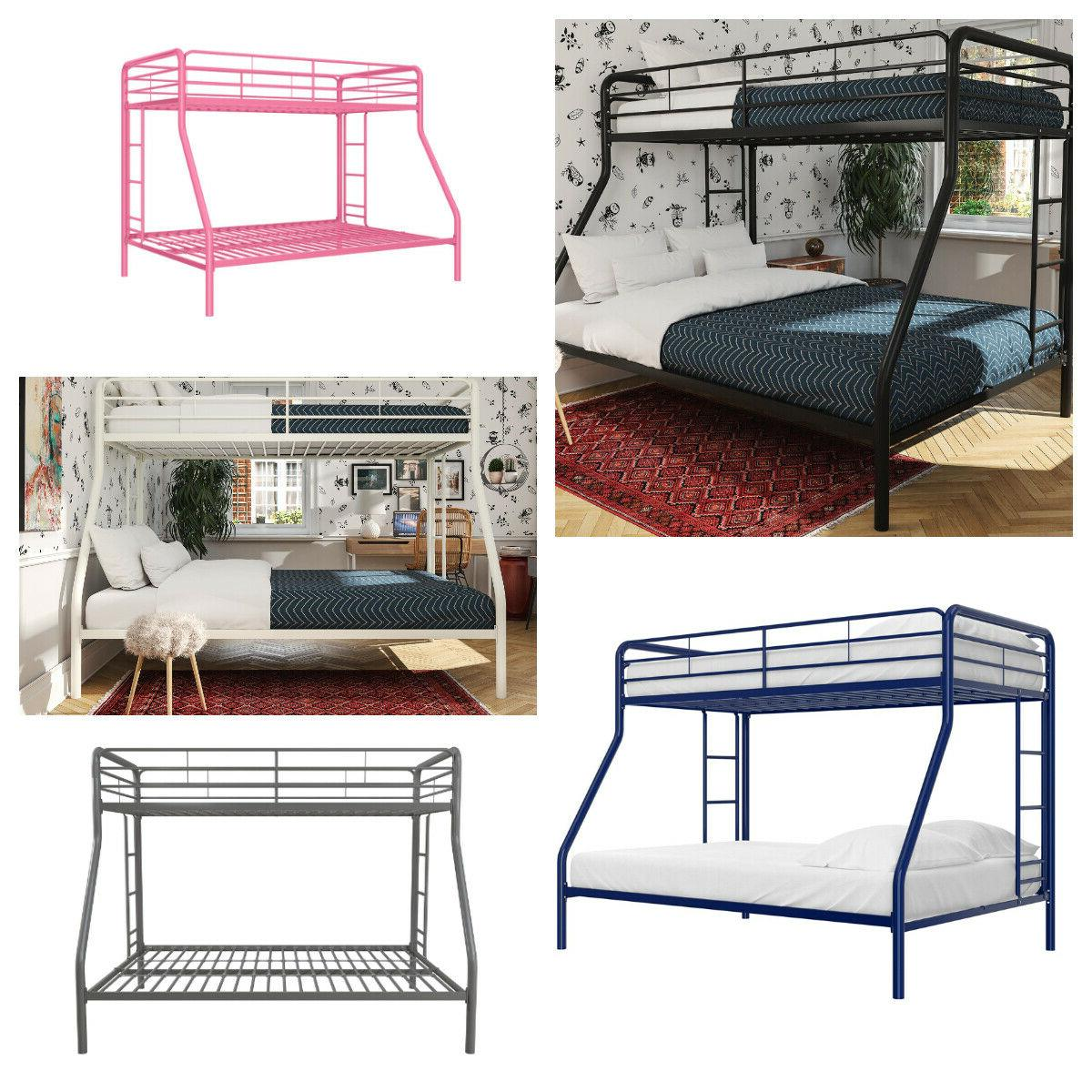 twin over full metal bunk bed frame