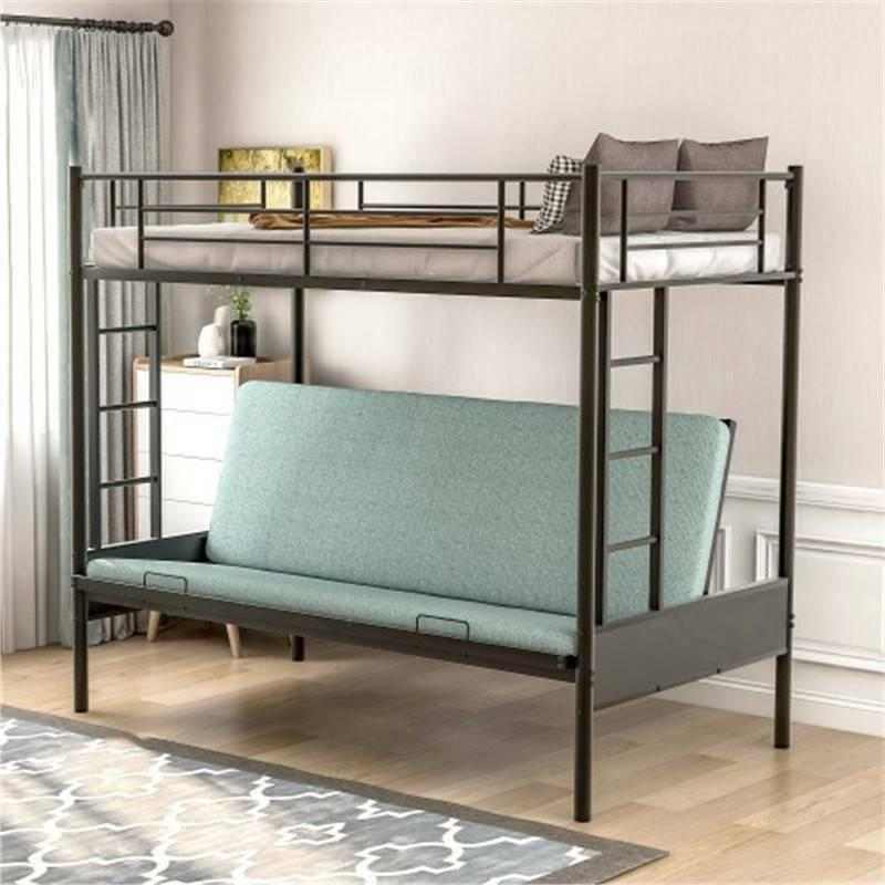 twin over full metal bunk bed w