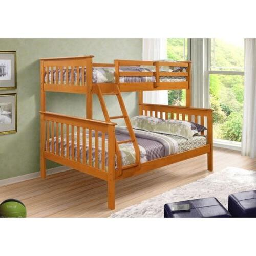 twin over full size bunk beds