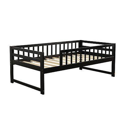 Twin Over Twin Bed Solid Bed Ladders Trundle