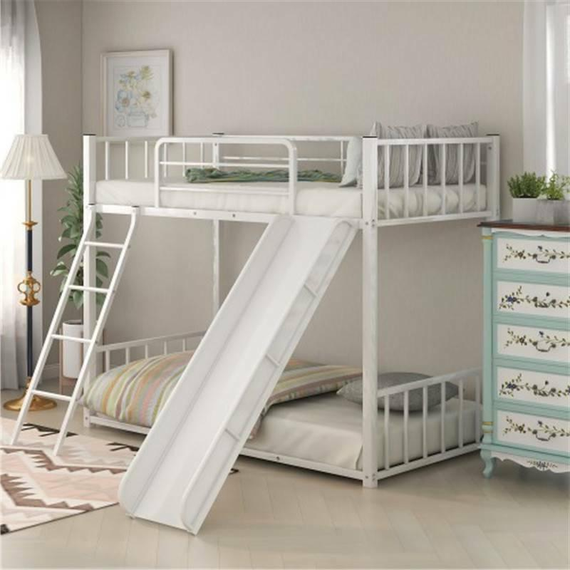 Twin Over Bunk Bed w/ Guest Bed