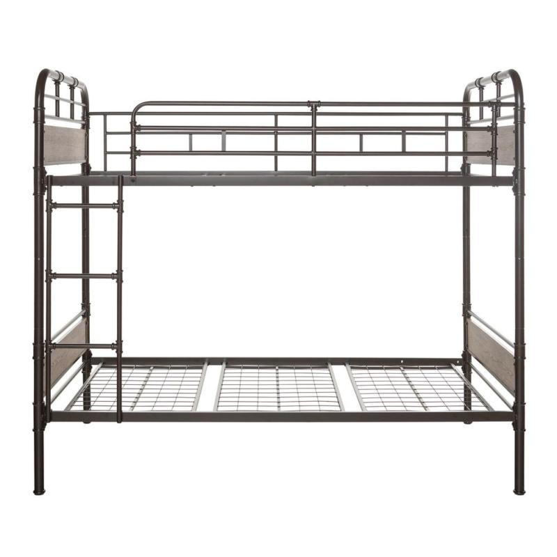 Urban Industrial Twin Metal Bed for s & kinds - Black