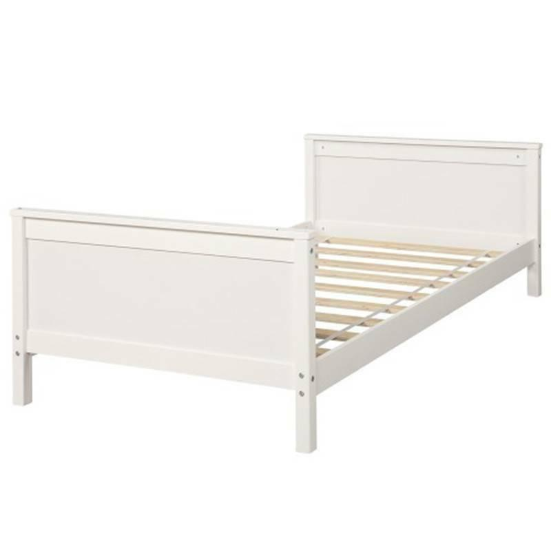 Twin Bed Bed Twin Storage Bed Wooden Bedding Set White Hot!