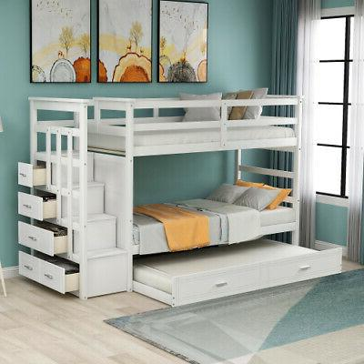 Wood Over Twin Bunk Beds Twin Bed