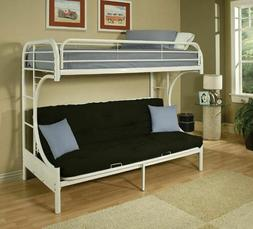 Bunk Bed Couch Sleeper Stairs Ladder Twin Over Full Futon So