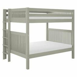 Camaflexi Mission Headboard Full over Full Bunk Bed with Bed