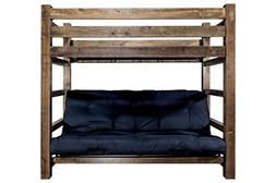 Montana Woodworks MWHCTWFMRSL Homestead Collection Bunk Bed