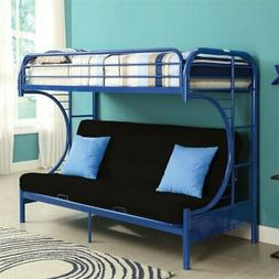 Acme Furniture 02091W-NV Eclipse Futon Bunk Bed, Twin/Full,