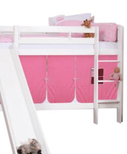Olivia Bunk Bed with Slide and Tent for Girls