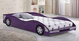 Donco Kids 4004TP Series Bed, Twin, Purple