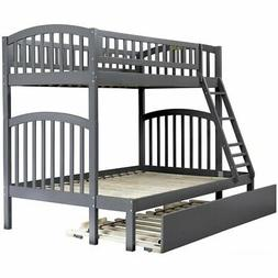 Atlantic Furniture Richland Twin Over Full Bunk Bed with Tru